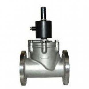工业级不锈钢电磁阀常闭型DN100系列