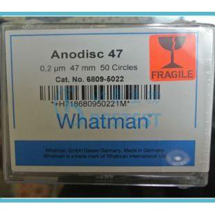 Whatman 200纳米氧化铝膜无机膜AAO模板 Anodisc47