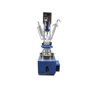 单层玻璃反应釜5L实验用小型反应釜