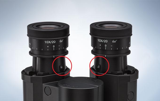固定目镜防止损坏或丢失