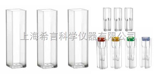 PE进口石英/玻璃比色皿大型样品池(带PTFE盖)