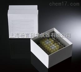 100格2英寸彩色紙冷凍盒美國巴羅克Biologix