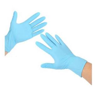 施瑞康 N920 丁聙手套  大/中/小 加厚设计、无粉丁腈、抗刺穿