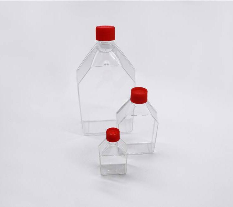 高度透明、聚苯乙烯细胞培养瓶
