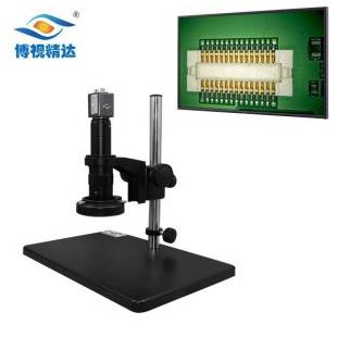 电子元器件焊接质量检测视频显微镜