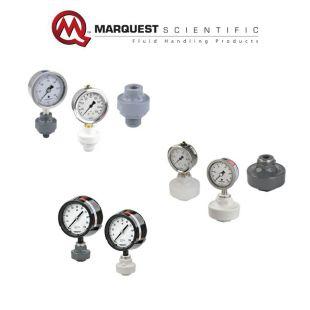 美国Marquest Scientific塑料隔膜压力表PVC/PP/CPVC/PVDF