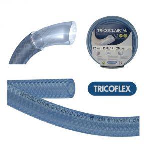 法国TRICOFLEX TRICOCLAIR® AL系列食品级PVC编织管 公制管 REACH认证