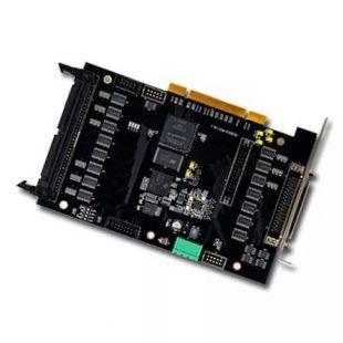 旗众三轴四轴连续轨迹控制卡 点胶行业专用卡QZMC3008