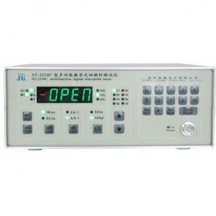 苏州晶格ST2258C四探针体电阻率测试仪