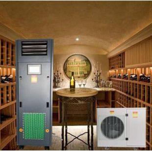 松越立柜式酒窖恒温恒湿空调设备SYHF-6
