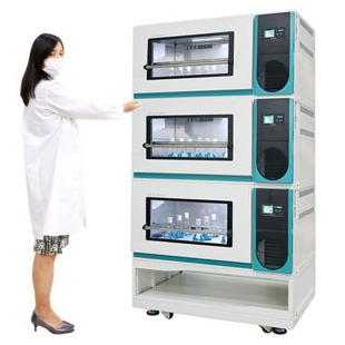 Lab Companion 莱布卡 恒温培养摇床_3层叠加型(制冷)