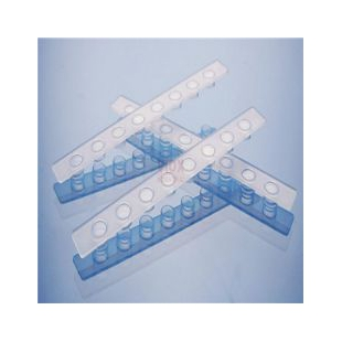 0.1ml8联管配荧光定量PCR八联管光学平盖