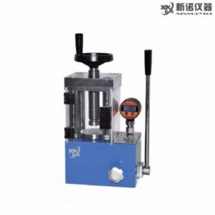 上海新诺牌 SYP-30TFS型 ,数显防护型 手动粉末压片机