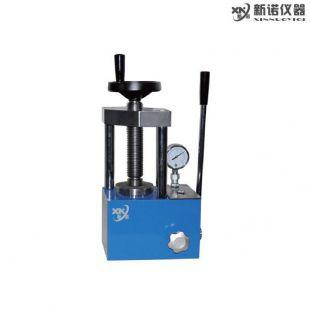 上海新诺牌 SYP-15B型 手动粉末制样机,二柱