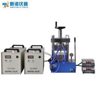 上海新諾牌 RYJ-600DG型 雙平板高溫熱壓儀器(500℃)