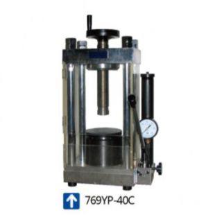 新诺仪器 769YP-40C型 四立柱防护型 手动粉末压片机