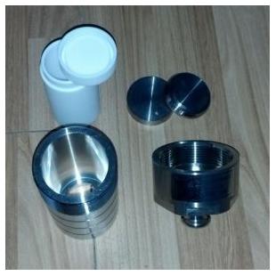 GCXJ-50 聚四氟乙烯高压消解罐 50毫升压力罐 压力溶弹 新诺