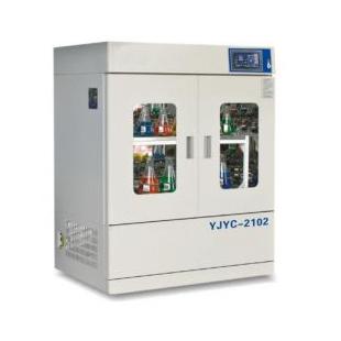 YJYC-2102立式恒温培养箱振荡器 混合摇床 新诺