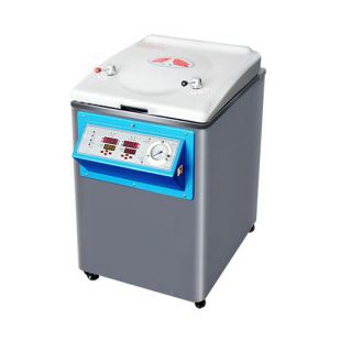 YM75智能控制立式压力锅 75L蒸汽灭菌器 上海新诺