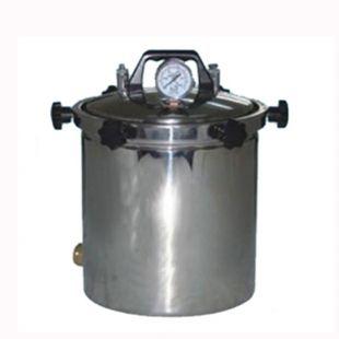 手提式不锈钢压力蒸汽灭菌器 YX280B型 蒸汽消毒锅 上海新诺