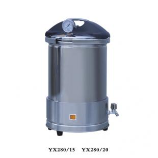手提式不锈钢压力蒸汽灭菌器 YX280/15 座式电热型 上海新诺