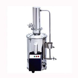 不锈钢电热蒸馏水器 DZ10 塔式蒸馏水机 上海新诺