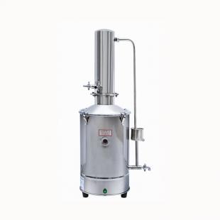 DZ10 立式不锈钢蒸馏水器 10L 蒸馏水制水机 上海新诺