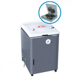 100A 实验室立式消毒锅 压力蒸汽灭菌器 上海新诺