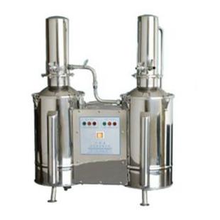 DZ5C不锈钢电热重蒸馏水器 双塔式重蒸馏水器 上海新诺