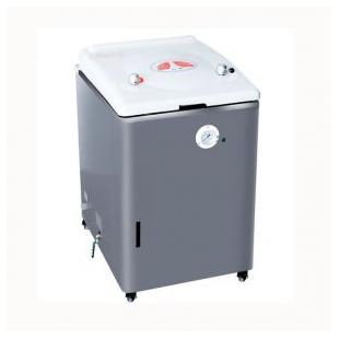 75A压力蒸汽灭菌器 75L人工加水型 实验消毒锅 上海新诺