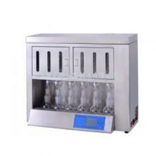 6联索氏提取器 脂肪测定仪 粗脂肪测定仪  BSXT-06 上海新诺