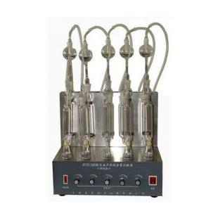 石油产品硫含量试验器(燃灯法)SYD-380B 独立五组试样每组可单独试验 新诺