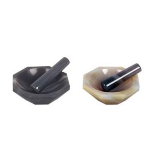 上海新诺 内φ180mm玛瑙乳钵 mnyb-180玛瑙研钵含研磨棒