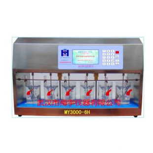 水處理藥劑混凝儀MY3000-6H混凝試驗攪拌器