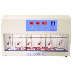 MY3000-6D混凝試驗攪拌器 藥劑六聯攪拌機
