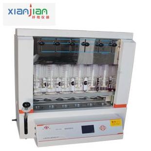 SZC-101上海纤检脂肪测定仪 索氏抽提法测试仪