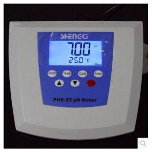 PHS-25台式精度酸度计 实验室pH计