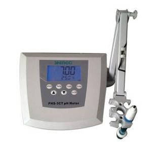 PHS-3CT臺式精度酸度計 pH計電極