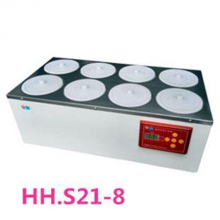 上海博讯双排8孔水浴锅HH.S21-8电热恒温水浴锅