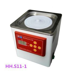 HH.S11-1恒温水浴锅 实验蒸馏水浴锅