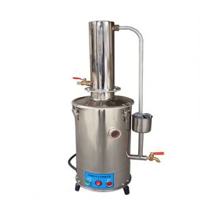 實驗室蒸餾水器YN-ZD-10不銹鋼電熱蒸餾水器