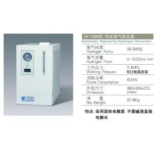 北京中惠普TH-1000氫氣發生器 氣體源