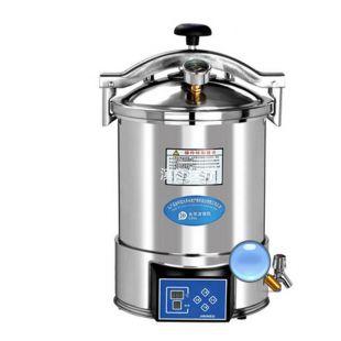 24升手提滅菌器YX-24HDD手提式壓力蒸汽滅菌器