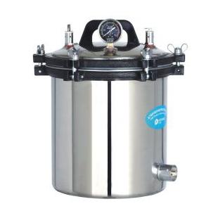 YX-18LM手提式压力蒸汽灭菌器18L煤电两用灭菌锅