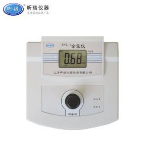 SYL-1台式余氯仪 水质余氯浓度值测定仪