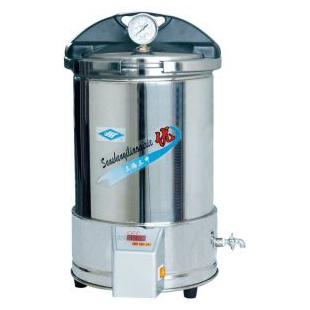 双哈牌灭菌器YX-280/20手提式不锈钢压力灭菌器