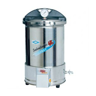 YX-280/20手提式不銹鋼壓力滅菌器 實驗室滅菌鍋