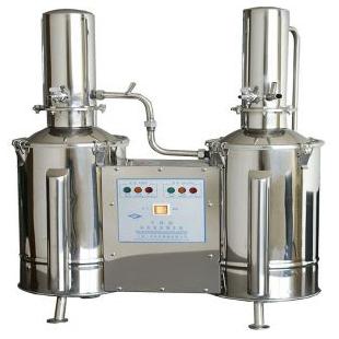 不锈钢蒸馏器TZ50不锈钢塔式蒸汽重蒸馏水器