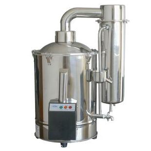 20L斷水自控蒸餾器DZ20Z不銹鋼電熱蒸餾水器