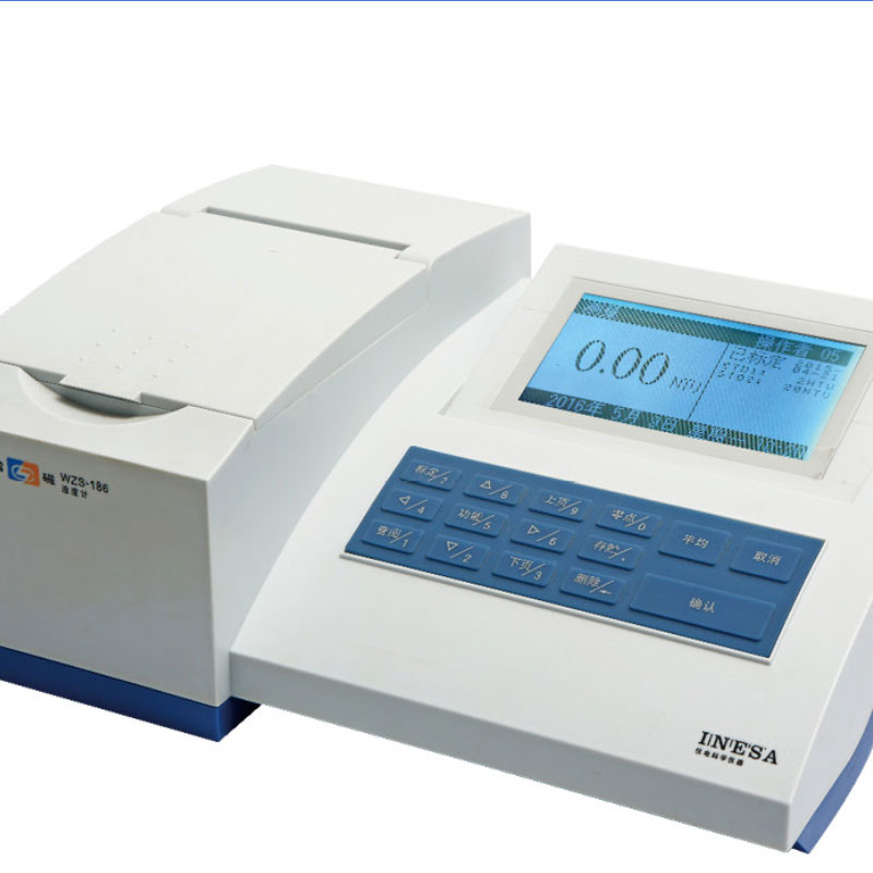 WZS-185A濁度計(工業用水、飲用水、飲料)